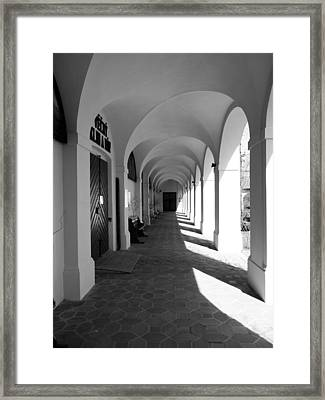 Arches Of Klokoty Framed Print by Rae Tucker