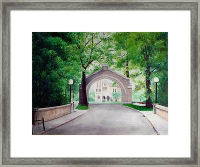 Arches Of Shadduck St Mary Framed Print by Marcus Moller