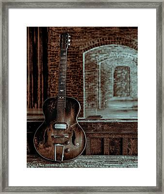 Arches Of Time Framed Print by EG Kight