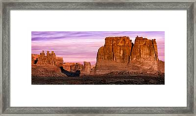 Arches Pano Framed Print