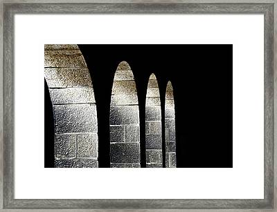 Arches Per Israel Framed Print by Deb Cohen