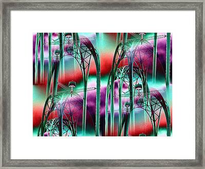 Arches Framed Print by Tim Allen