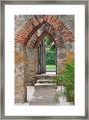 Arches To Heaven Framed Print