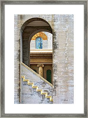 Arches Within Arches Framed Print by Christopher Holmes