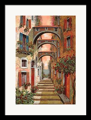 Street Scene Paintings Framed Prints