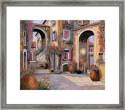 Archi A Toni Viola Framed Print