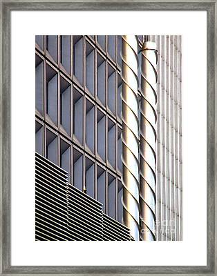 Archi Textures Framed Print by Randall Weidner