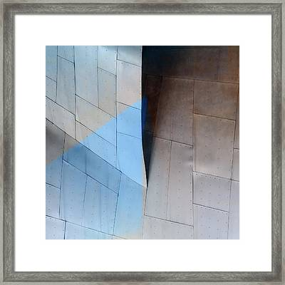 Architectural Reflections 4619e Framed Print by Carol Leigh