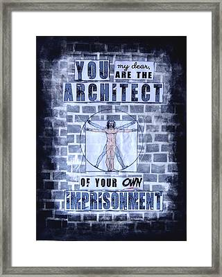 Architect Framed Print by Susan K Leslie