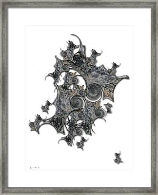 Architectonic Self Framed Print