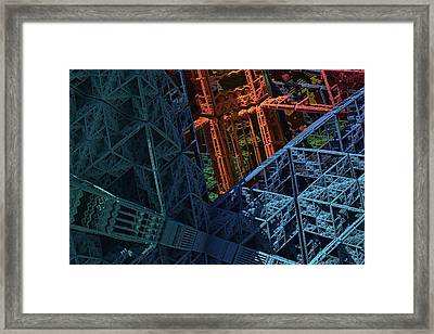 Architect's Nightmare Framed Print by Lyle Hatch