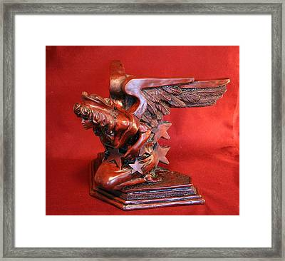 Architectural Angel Framed Print by Larkin Chollar