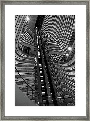 Architectural Beauty Framed Print