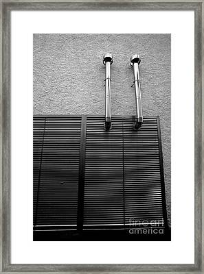 Architectural Elements Framed Print by Gaspar Avila