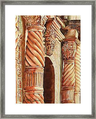 Architectural Immersion Framed Print