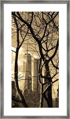 Framed Print featuring the photograph Architectural by Mitch Cat