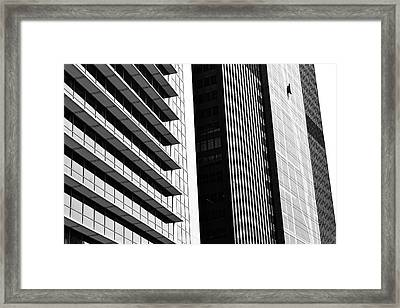 Architectural Pattern Study 3.0 Framed Print