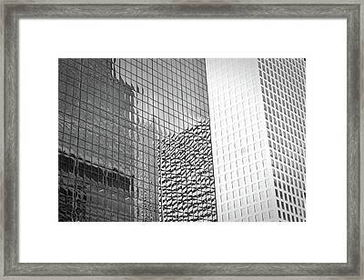 Architectural Pattern Study 4.0 Framed Print