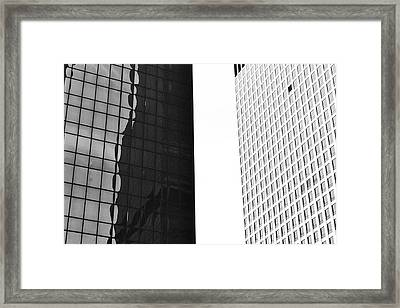 Architectural Pattern Study 5.0 Framed Print