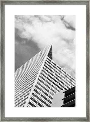 Architectural Pattern Study 6.0 Framed Print
