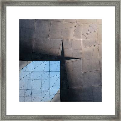 Architectural Reflections 4619a Framed Print by Carol Leigh