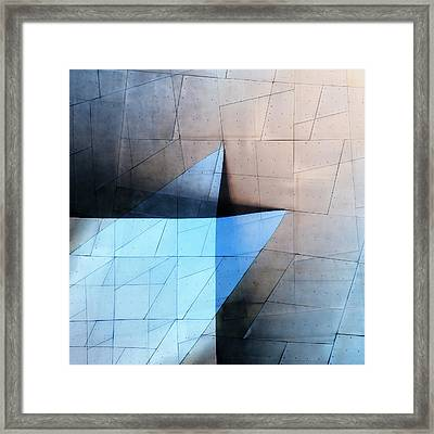 Architectural Reflections 4619c Framed Print by Carol Leigh