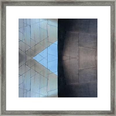 Architectural Reflections 4619d Framed Print by Carol Leigh