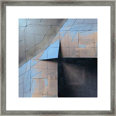 Architectural Reflections 4619f Framed Print by Carol Leigh