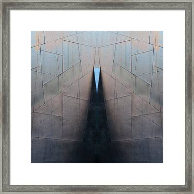 Architectural Reflections 4619j Framed Print by Carol Leigh