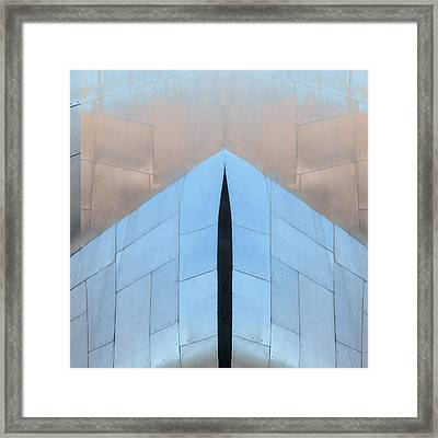 Architectural Reflections 4619k Framed Print by Carol Leigh
