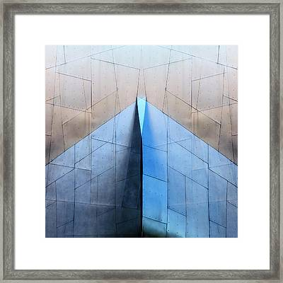 Architectural Reflections 4619l Framed Print by Carol Leigh