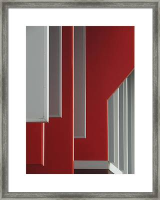 Architectural Rhythms Framed Print