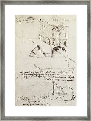 Architectural Study Framed Print
