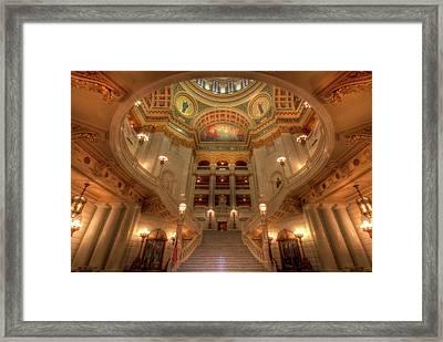 Architectural Treasure Framed Print by Lori Deiter