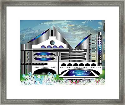Architecture 1a Framed Print by George Pasini