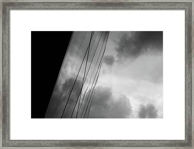 Architecture And Immorality Framed Print