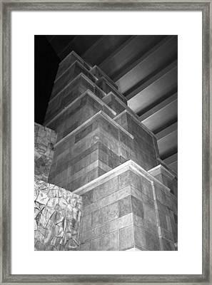 Architecture Detail Framed Print by Viktor Savchenko