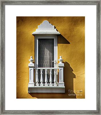 Architecture Minimalism   Framed Print by Steven Digman