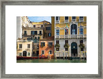 Architecture Of Venice - Italy Framed Print