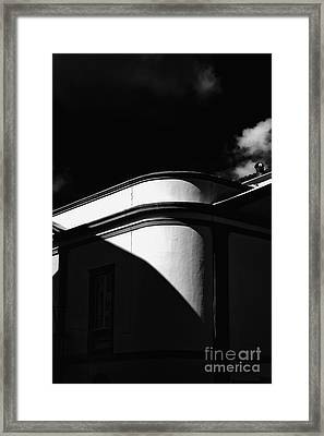 Architecture Shadow Light Game Framed Print