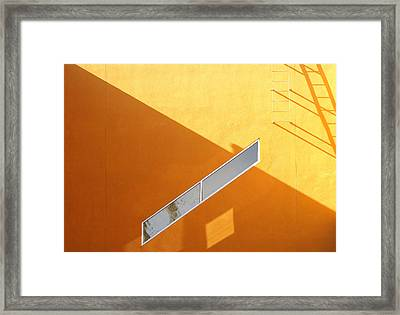 Architecture Study 8 Framed Print by Dale Hart