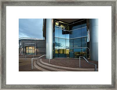 Framed Print featuring the photograph Architectural Beauty by Dave Dilli