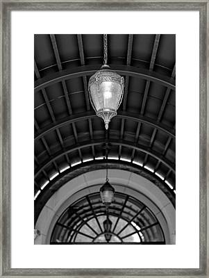Archway Abstract Framed Print by Pamela Patch