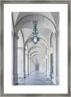 Archway Framed Print by Carlos Caetano