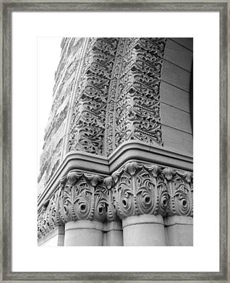 Archway Framed Print by Douglas Pike