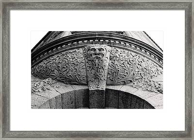 Archway In Old Montreal Framed Print by Henry Krauzyk