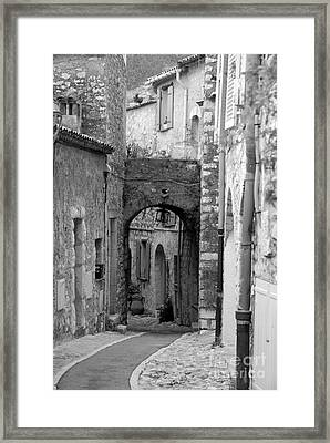 Archway In The Caslte Framed Print