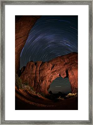 Archway Rotation Framed Print by Mike Berenson