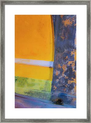 Archway Wall Framed Print