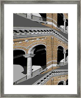 Archways Framed Print